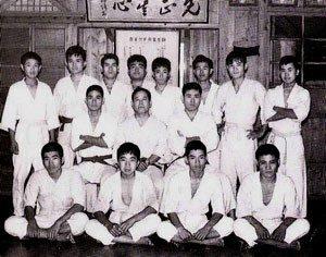 Sensei Nagamine's original dojo